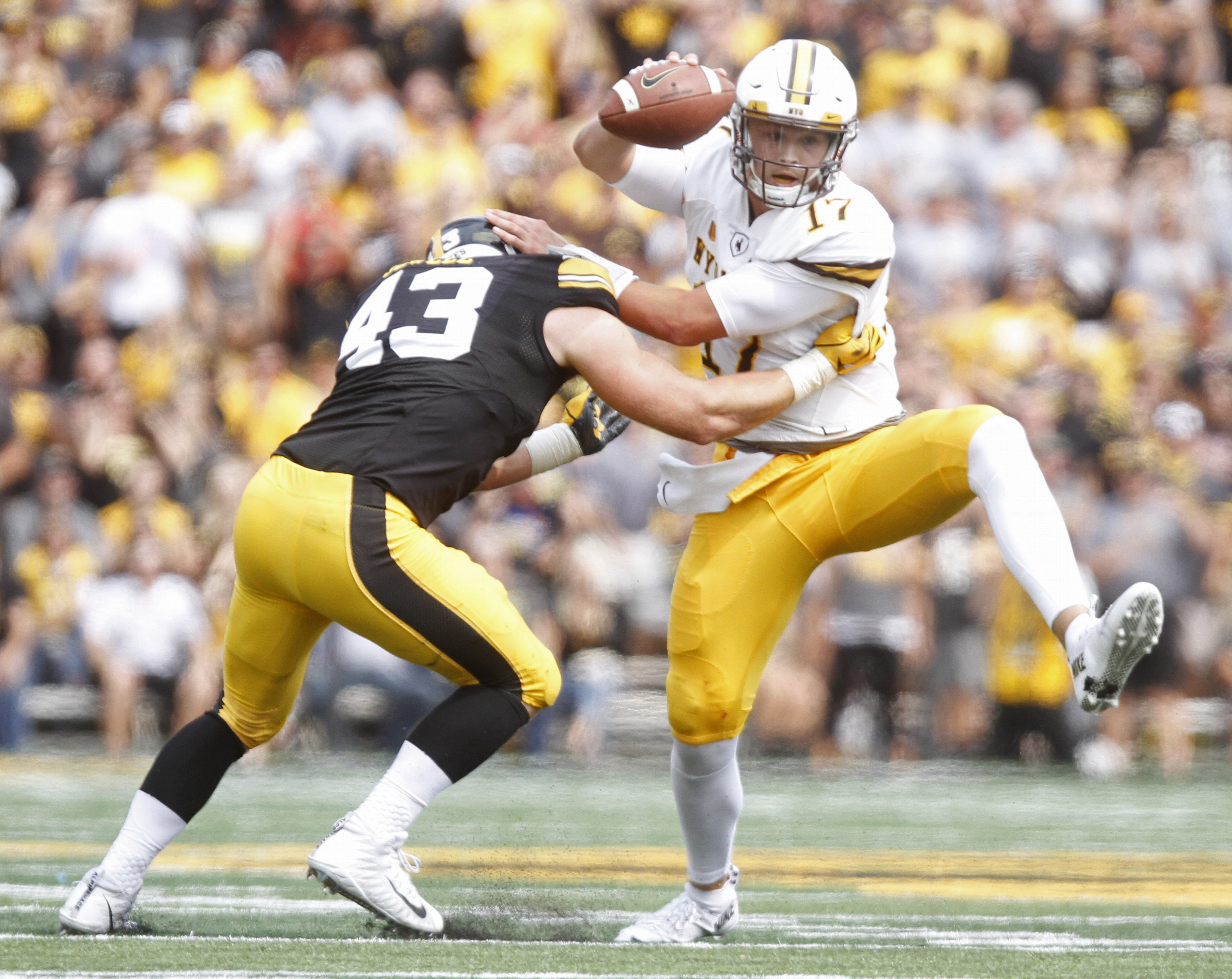 Wyoming at Iowa: Three things we learned