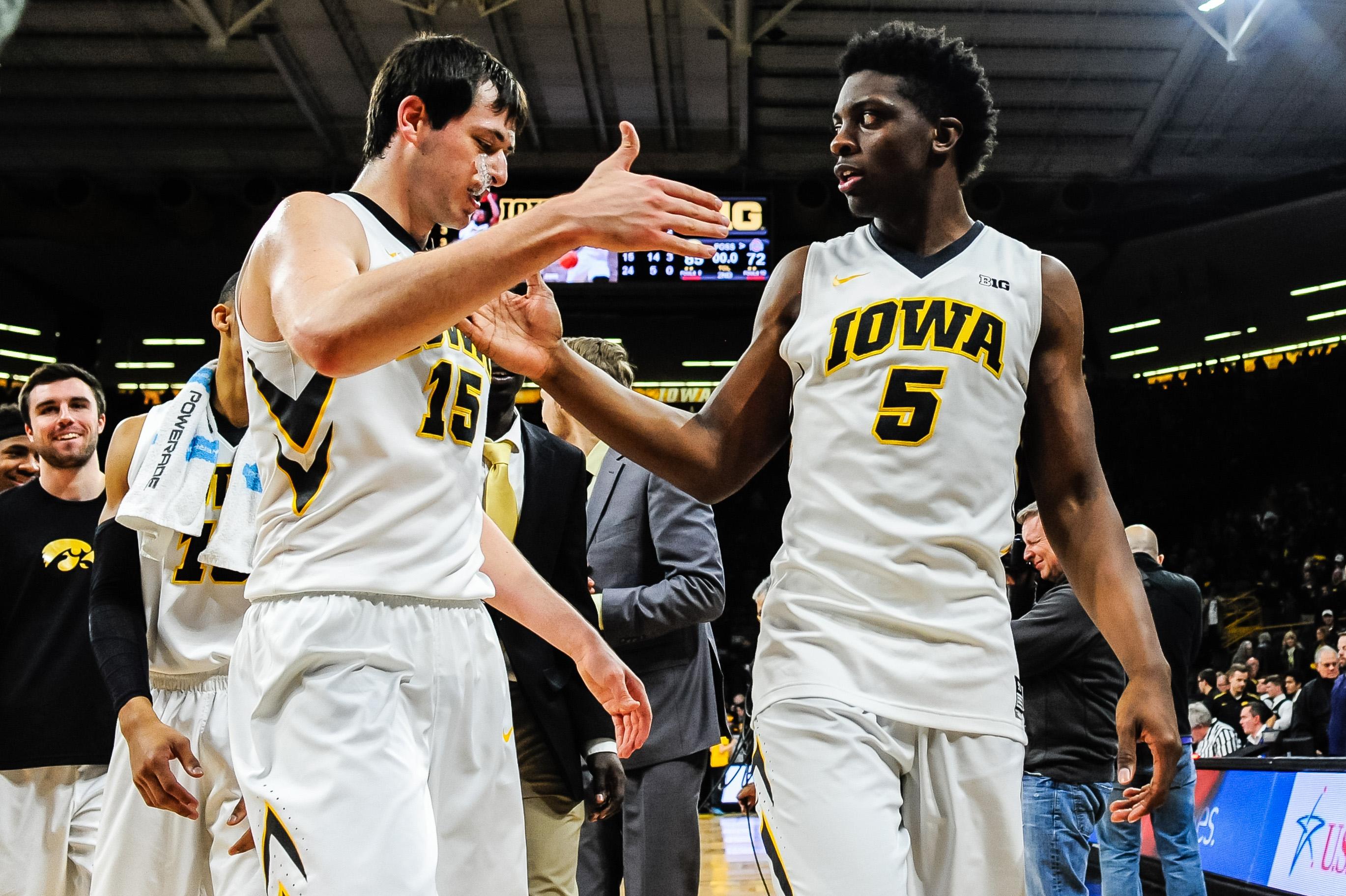 Game Awards: Iowa Basketball Crushes Ohio State At Home